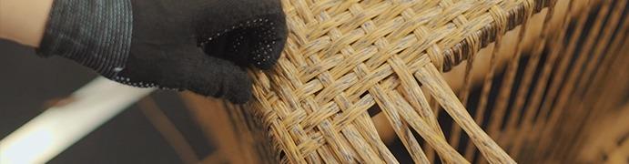 Плетение мебели из искусственного экоротанга