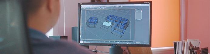 Проектирование готовой модели и каркаса плетеной мебели