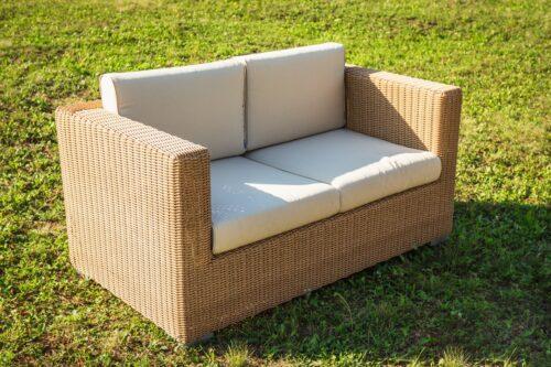 плетеный диван фото