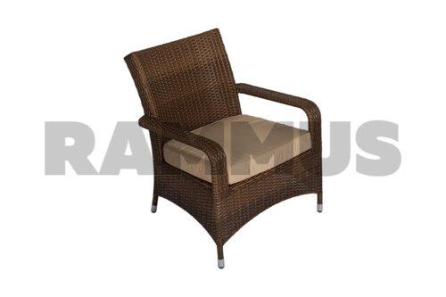 кресло из искусственного экоротанга прованс rammus