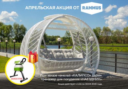 акция в RAMMUS - получи тренажер для похудения в подарок
