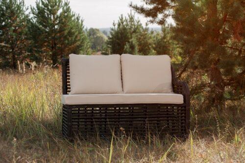 садовый диван модульный фото