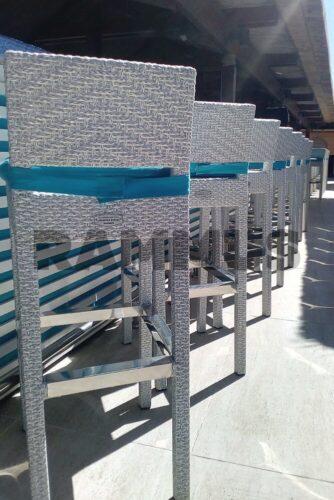 мебель фабрики мебели из экоротанга RAMMUS в отеле Золотая Бухта Анапа