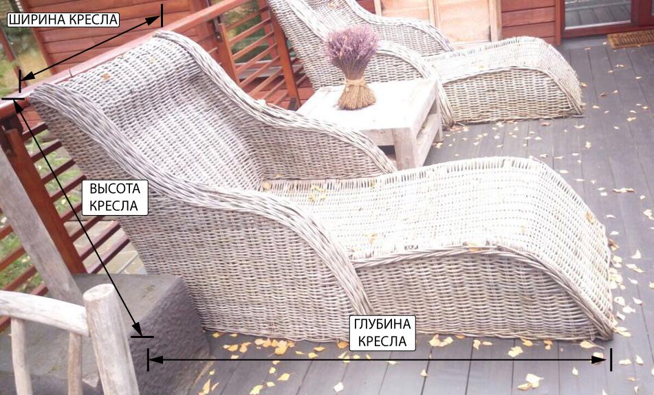 натуральный ротанг рассыхается, мебель теряет внешний вид и требует замены фото