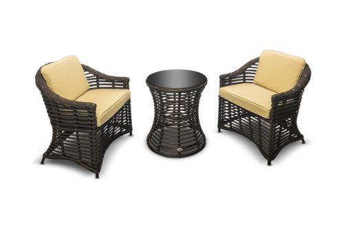 мебель для балкона из ротанга от RAMMUS фото